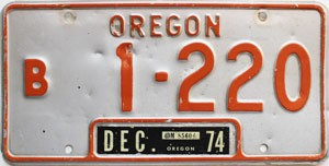 1974 Oregon Bus # 1-220