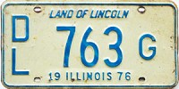 1976 Illinois Dealer # 763G