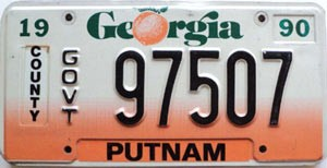 1990 Georgia County Government # 97507