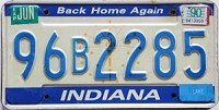 1990 Indiana Home Again graphic # 96B2285