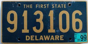 1999 Delaware First State # 913106