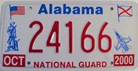 2000 Alabama National Guard graphic # 24166