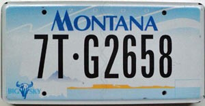 2000 Montana Truck graphic # 7T-G2658, Flathead County