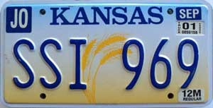 2001 Kansas Wheat graphic # SSI-969, Johnson County