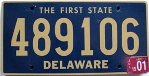 2001 Delaware First State # 489106