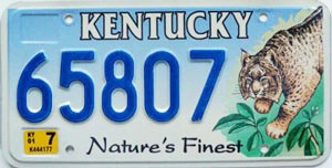 2001 Kentucky Lynx graphic # 65807