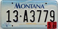 2001 Montana graphic # 13-A3779, Ravalli County