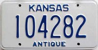 2002 Kansas Antique # 104282