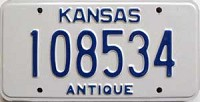 2002 Kansas Antique # 108534