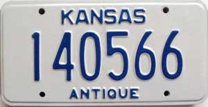 2002 Kansas Antique # 140566