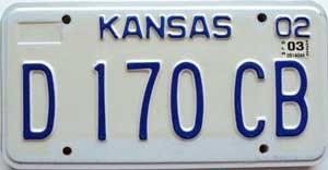 2003 Kansas Dealer # D 170 CB