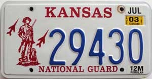 2003 Kansas National Guard graphic # 29430