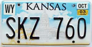2003 Kansas Capital graphic # SKZ-760, Wyandotte County