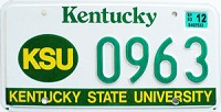 2003 Kentucky State University graphic # 963