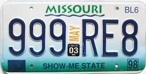 2003 Missouri Truck # 999-RE8