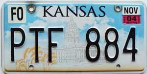 2004 Kansas graphic # PTF-884, Ford County