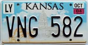 2004 Kansas graphic # VNG-582, Lyon County