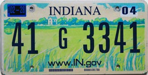 2004 Indiana Farm graphic # 41G3341