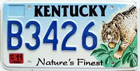 2004 Kentucky Lynx graphic # B3426