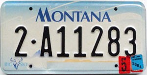 2004 Montana graphic # 2-A11283, Cascade County