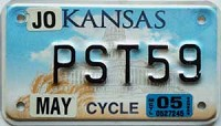2005 Kansas Motorcycle graphic # PST59, Johnson County