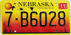 2005 Nebraska graphic # B6028, Madison County