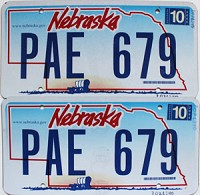 2006 Nebraska Wagon graphic pair # PAE-679