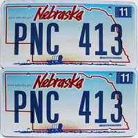 2006 Nebraska Wagon graphic pair # PNC-413