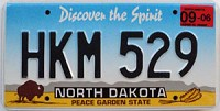 2006 North Dakota Spirit graphic # HKM-529