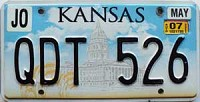 2007 Kansas Capital graphic # QDT-526, Johnson County