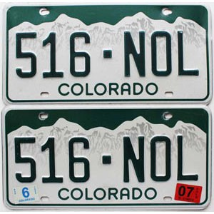 2007 Colorado graphic pair # 516-NOL