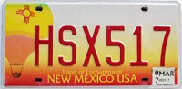 2007 New Mexico Balloon graphic # HSX517