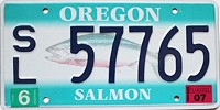 2007 Oregon Salmon graphic # 57765