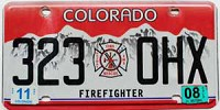 2008 Colorado Firefighter graphic # 323-OHX