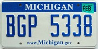 2008 Michigan graphic # BGP-5338