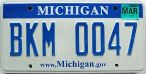 2008 Michigan graphic # BKM-0047