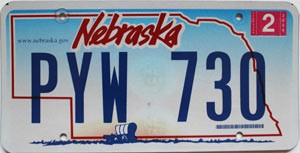 2009 Nebraska Wagon graphic # PYW-730