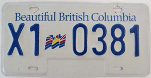 British Columbia Industrial Equipment # X1-0381