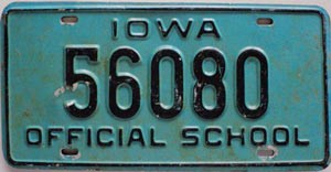 Iowa Official School # 56080