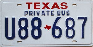 Texas Private Bus # U88-687