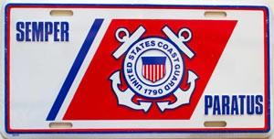 United States Coast Guard graphic - Semper Paratus